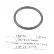 UDOR ZETA, KAPPA, OMEGA, BETA, RO кольцо уплотнительное клапана D39,69 110101(1365)