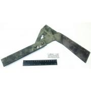 КРН-4,2 лапа-бритва культиватора 120 мм односторонняя левая