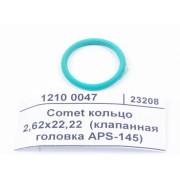 Comet кольцо 2,62x22,22  (клапанная головка APS-145) 1210 0047