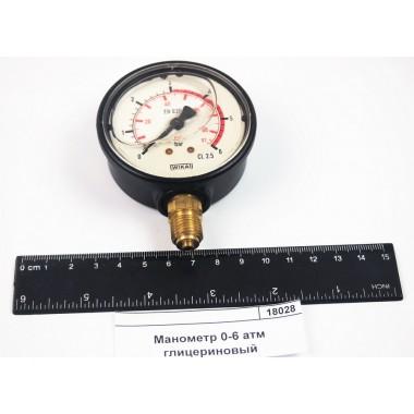 Купить Манометр 0-6 атм глицериновый, 8302051,  Республика Крым