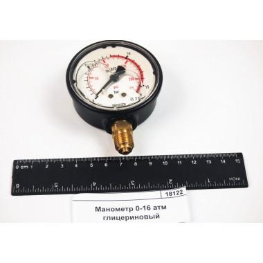 Купить Манометр 0-16 атм глицериновый 8302053, 8302053,  Республика Крым