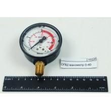 Манометр 0-40 глицериновый WIKA