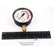 Манометр 0-60 атм глицериновый WIKA 8302057