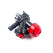 Отсекающее ус-во шланг. типа 13 мм концевое со шпилькой Польша AP 0-100/08/К
