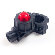 Отсечное хомутового типа 20 мм F=10mm голое GeoLine 8234003