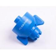 КАС распылитель 10 голубой FC-ESI-11010 сопло для внесения ЖКУ HYPRO 6-струйное